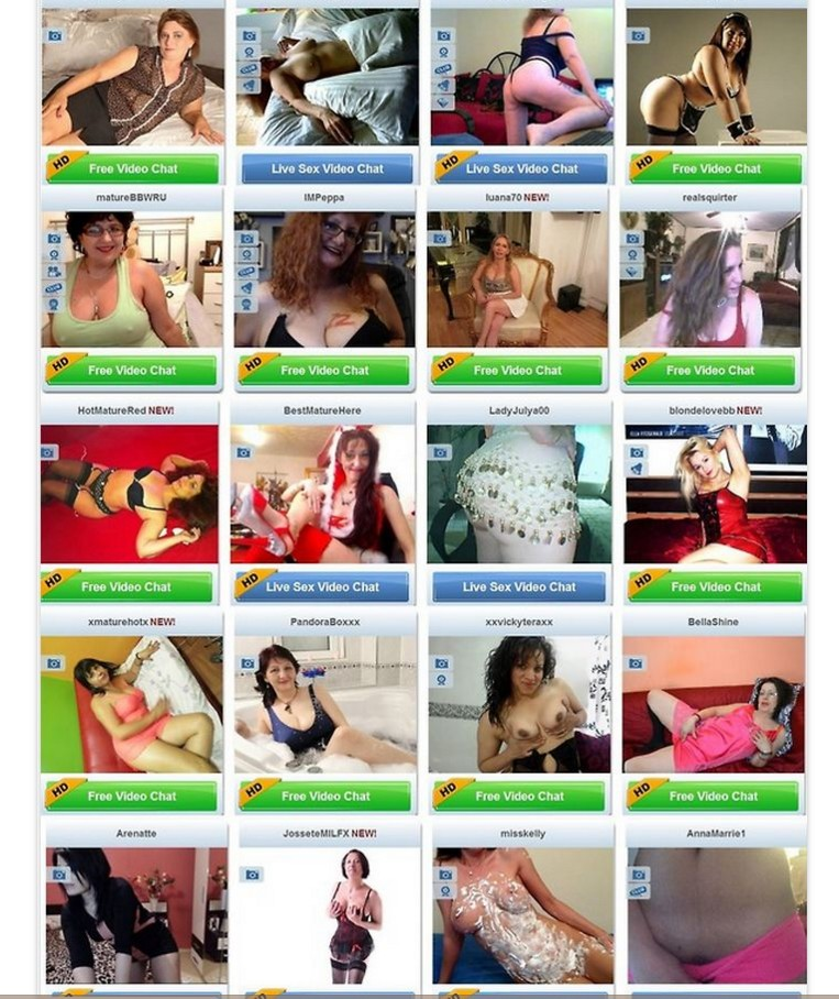 live mature webcams, older ladies cam
